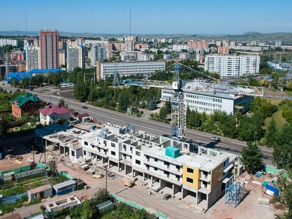 Фото Жилой комплекс КУРЧАТОВА, дом 6, стр 1, Ход строительства 4 августа 2018
