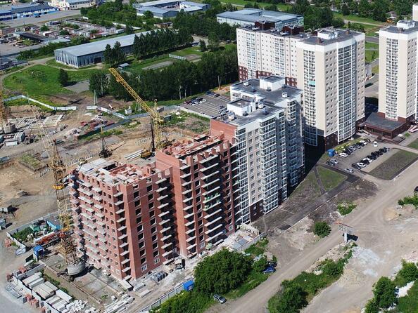 Фото Жилой комплекс ВЕРХНИЙ БУЛЬВАР, дом 3, Б/С «В» и «Г», июль 2018