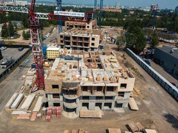 Фото Микрорайон SCANDIS (Скандис), дом 2, Ход строительства 25 июня 2018
