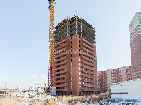 Ход строительства 16 февраля 2020