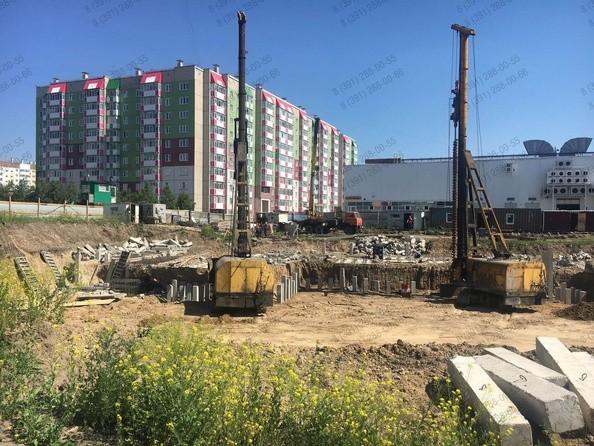 Фото Жилой комплекс КОМСОМОЛЬСКИЙ , Ход строительства июнь 2018