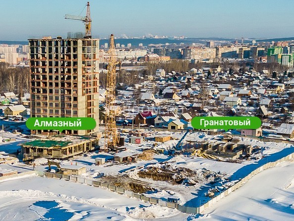 Фото Жилой комплекс ЮЖНЫЙ, дом «Гранатовый», Ход строительства февраль 2019
