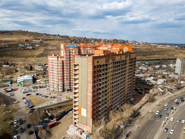 Фото Жилой комплекс КАЛИНИНСКИЙ, дом 1, 4 этап, Ход строительства 25 апреля 2019