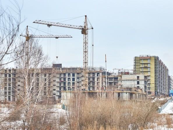 Фото Жилой комплекс СИМВОЛ, 3 очередь, б/с 12,13, Ход строительства 28 марта 2018