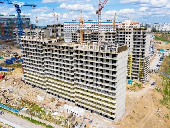 Фото Жилой комплекс Солнечный, 3 мкр, 2 квартал, дом 11, Ход строительства 11 июня 2019