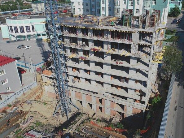 Ход строительства 4 августа 2020 г