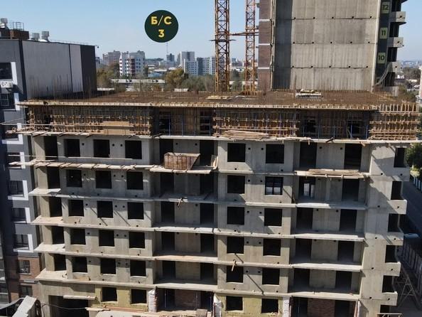 Ход строительства 4 сентября 2021