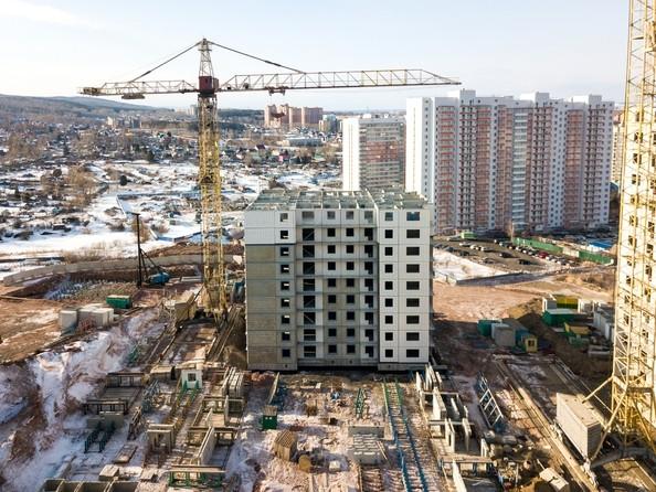 Фото Жилой комплекс КУРЧАТОВА, дом 8, стр 2, Ход строительства 25 февраля 2019
