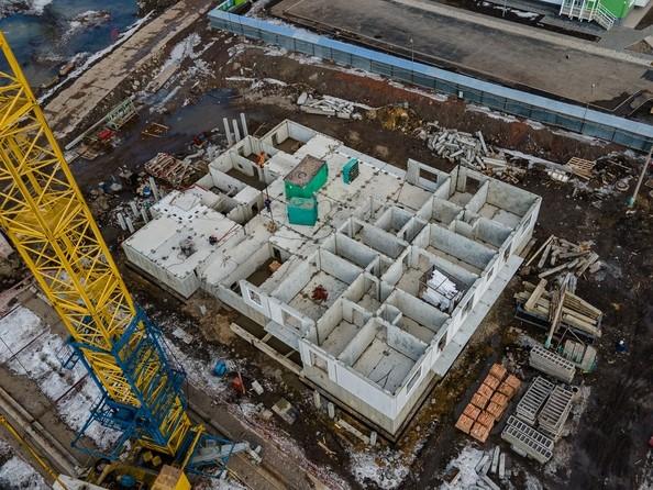 Ход строительства 30 марта 2021