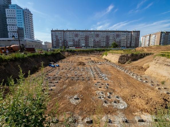 Фото Жилой комплекс АЛЕКСАНДРОВСКИЙ, дом 1, Ход строительства 23 августа 2019