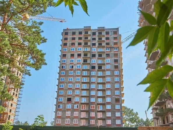 Фото Жилой комплекс АТМОСФЕРА, б/с 3, Ход строительства 2 августа 2018
