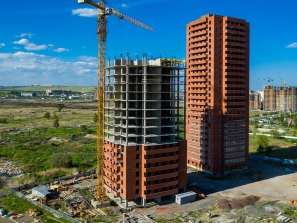 Фото Жилой комплекс КВАДРО, дом 1, Ход строительства 14 июня 2019