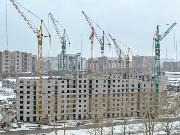 Ход строительства март 2020