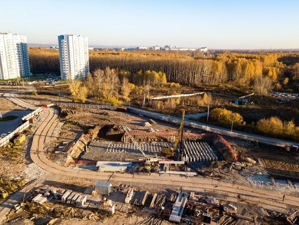 Фото Жилой комплекс МАТРЕШКИН ДВОР 105, дом 2, 1 этап, Ход строительства октябрь 2018