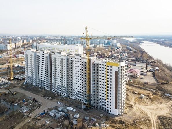 Фото Жилой комплекс Иннокентьевский, 3 мкр, дом 3, Ход строительства 24 апреля 2018