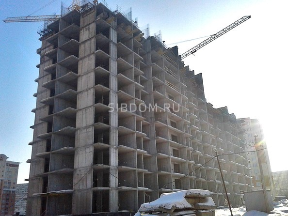 Фото Жилой комплекс РОДНЫЕ ПРОСТОРЫ, Ход строительства январь 2019