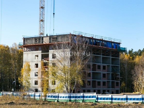 Фото Жилой комплекс СОКОЛЬНИКИ, стр 1, Ход строительства 8 октября 2018