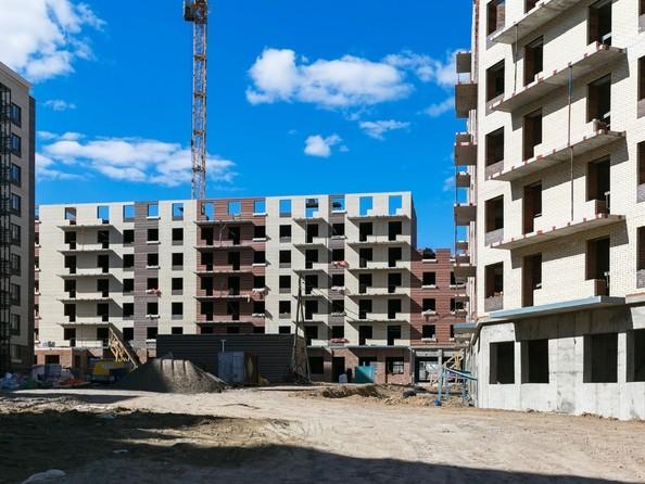Фото Жилой комплекс Академгородок, дом 1, корп 2, Ход строительства 23 апреля 2019