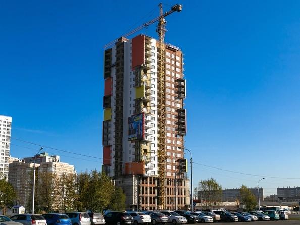 Фото Жилой комплекс АКВАРЕЛЬ, Ход строительства 21 октября 2018