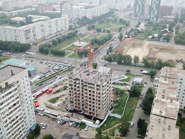 Фото Жилой комплекс FUSION (Фьюжн), Ход строительства 7 августа 2019