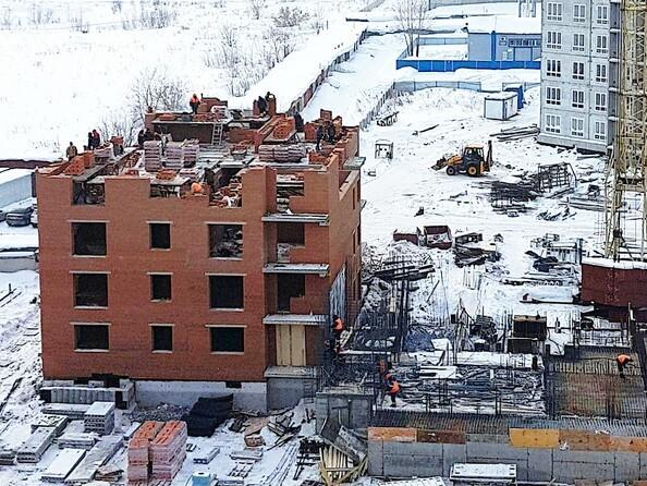 Фото ВЕРХНИЙ БУЛЬВАР, дом 7, б/с «Г», Ход строительства февраль 2019