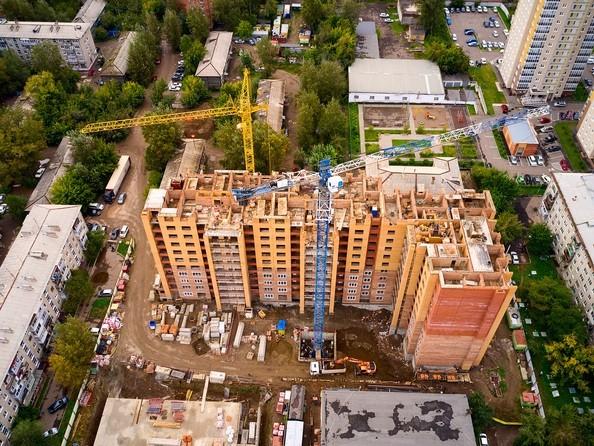 Ход строительства 10 сентября 2020