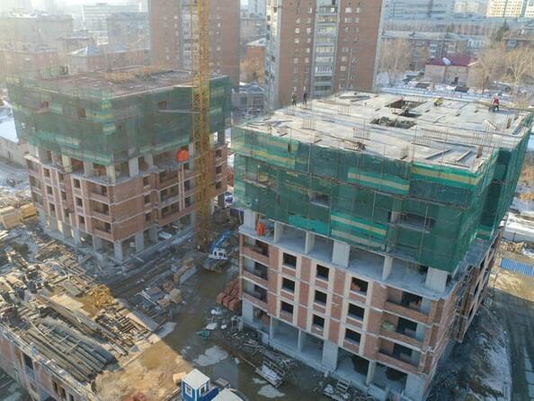 Фото Жилой комплекс ЭРМИТАЖ, Ход строительства апрель 2019