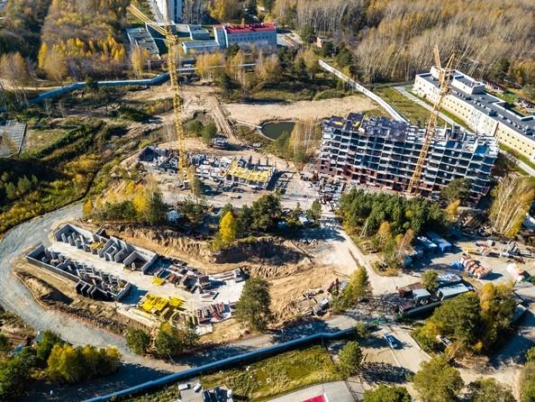 Фото Жилой комплекс ЭВОЛЮЦИЯ, 1 оч, дом 3, Ход строительства 8 октября 2018