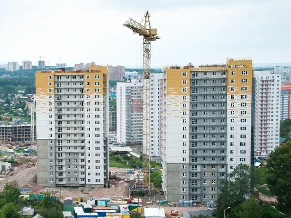 Фото Жилой комплекс КУРЧАТОВА, дом 8, стр 1, Ход строительства 17 июля 2019