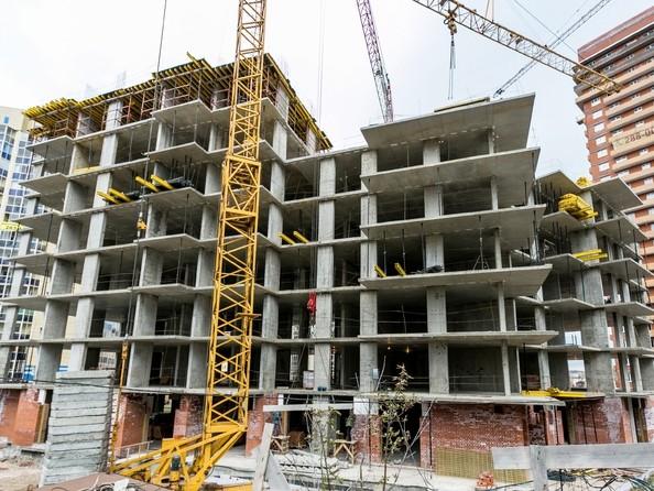 Фото Жилой комплекс БЕЗОБЛАЧНЫЙ, дом 2, Ход строительства 16 октября 2017