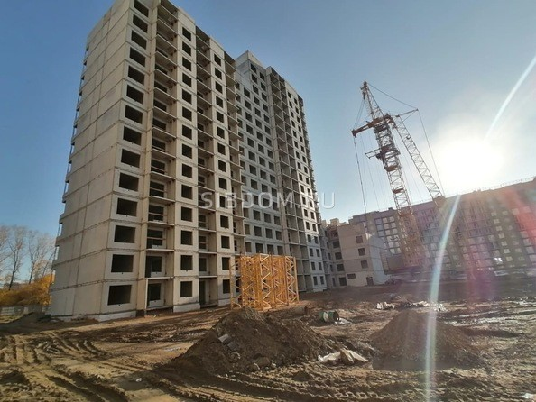 Ход строительства октябрь 2020