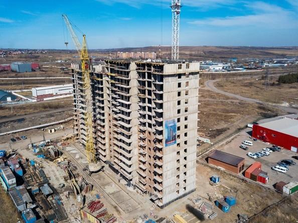 Фото Жилой комплекс Подзолкова, 1, Ход строительства 14 апреля 2019