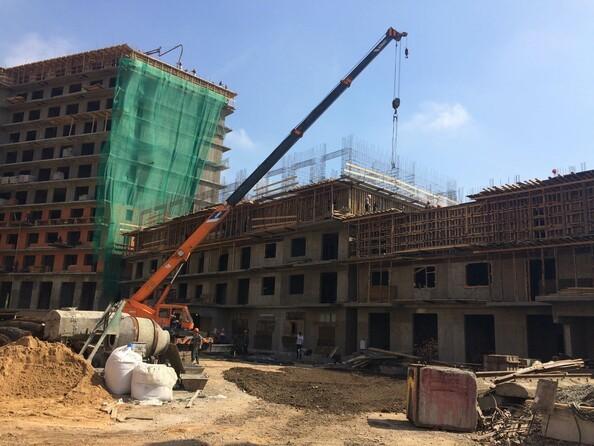 Фото Жилой комплекс ПИЛОТ, Ход строительства Июнь 2018