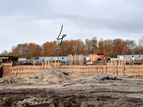 Блок-секция 4. Ход строительства 5 октября 2020