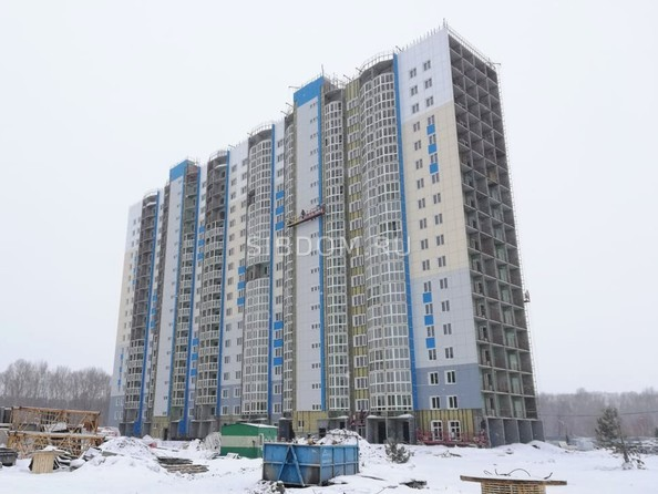 Фото Жилой комплекс АКВАРЕЛЬНЫЙ 2.0, дом 2, Ход строительства март 2019