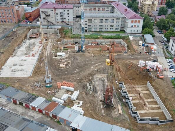 Ход строительства 3 августа 2021