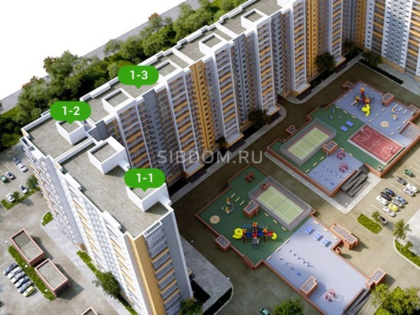 Картинки Жилой комплекс ГРАНД-ПАРК, б/с 1.2
