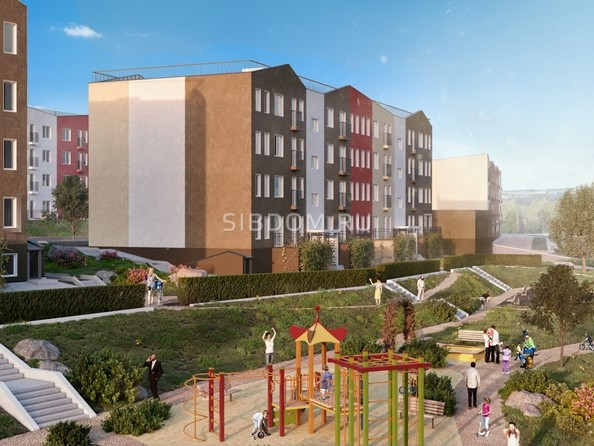 Картинки Жилой комплекс ЖИВЁМ эко-район, 2 квартал, дом 2