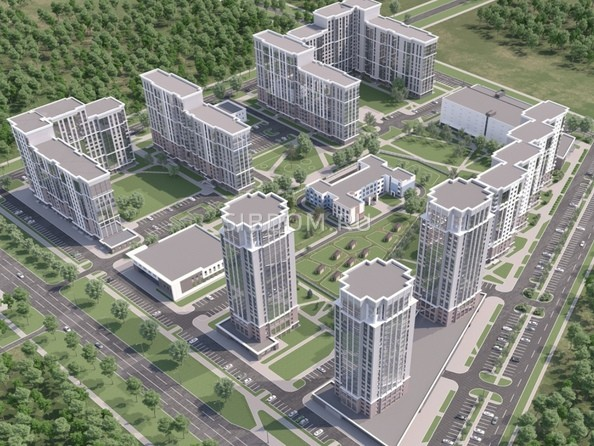 Макет жилого комплекса Лапландия