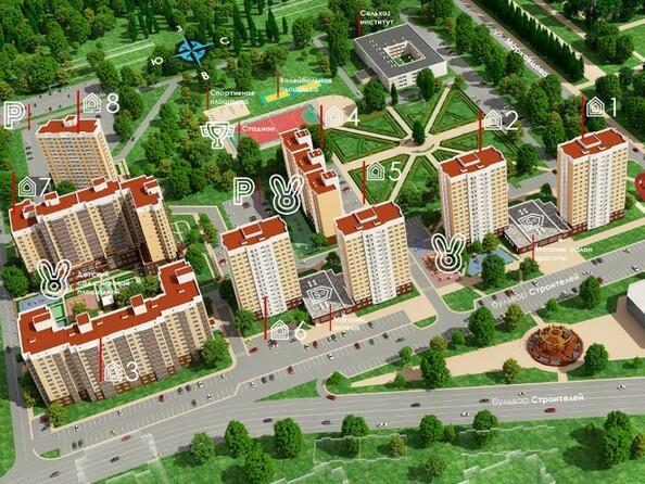Картинки Жилой комплекс ВЕРХНИЙ БУЛЬВАР, 7 дом, б/с а,б,в