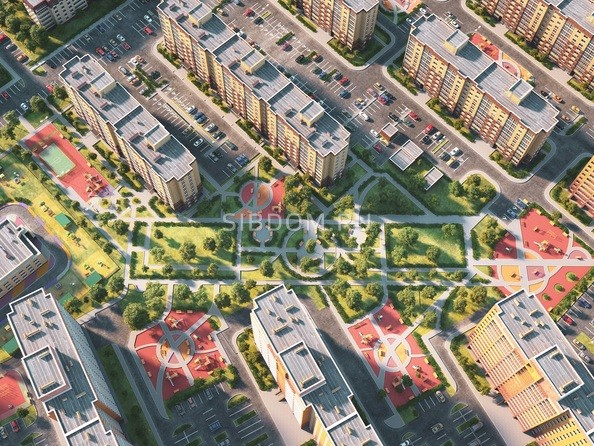 Схема расположения домов