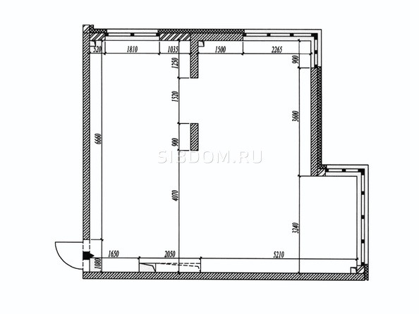 Планировка 2-комн 60,5 - 61 м²