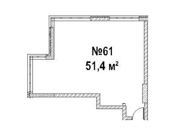 2-комнатная 51,4 кв.м