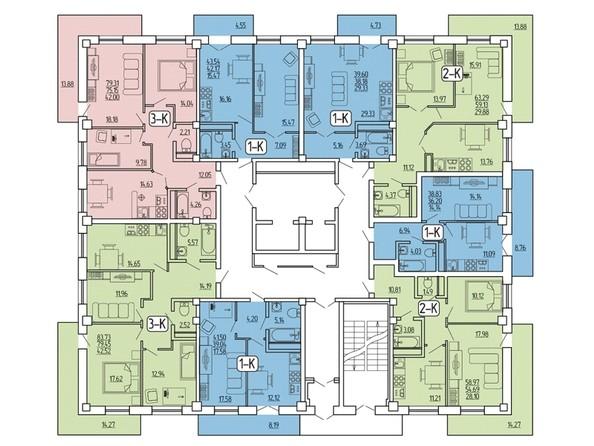 Планировка 5-10 этажей