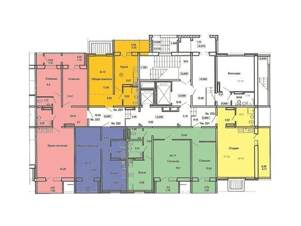 План 1 этажа, 3 б/с