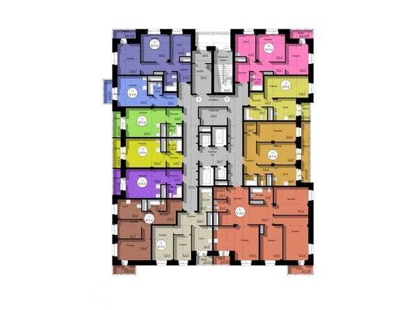 Планировка 17-25 этажей