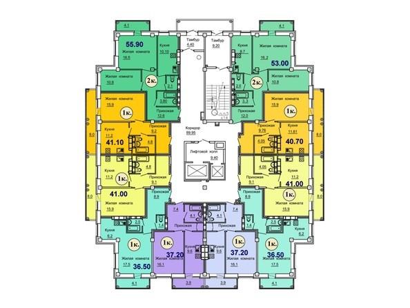 Типовой этаж 2-16