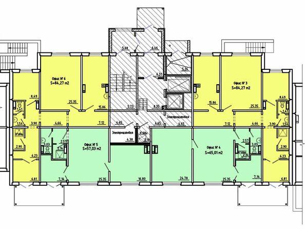 Нежилое, 1 этаж, 2 подъезд