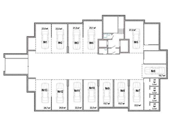 Планировка подземного этажа