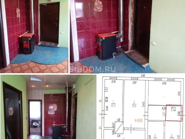 Продам дом, 77.5 м², Новомоношкино. Фото 19.